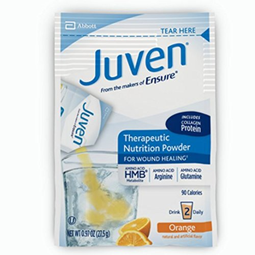 Juven Therapeutic Nutrition Powder, Orange, .97 Ounce Each, 8 Packets
