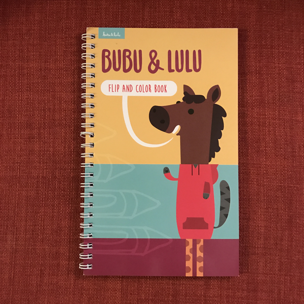 Bubu & Lulu Coloring Book