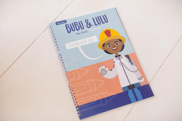 Bubu & Lulu: When I Grow Up / Around the World Coloring Book