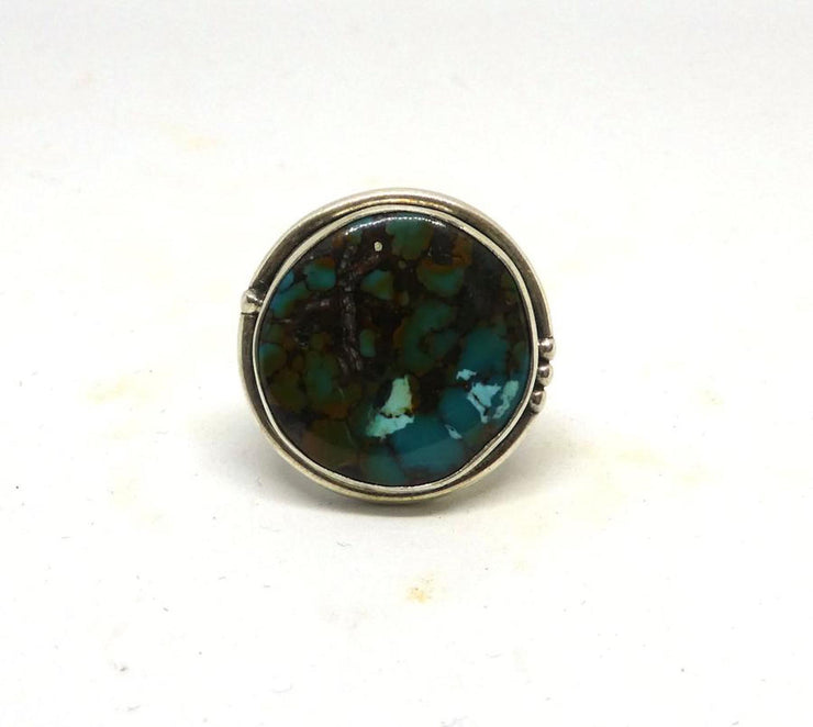 Turquoise Ring #10 Size US8 - Tierra Alma