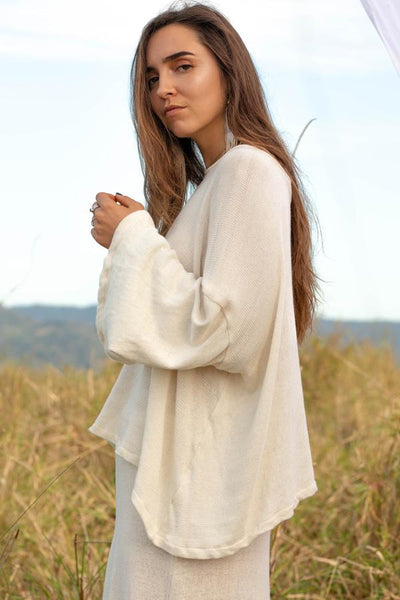 Ivy Sweater - Natural - Tierra Alma