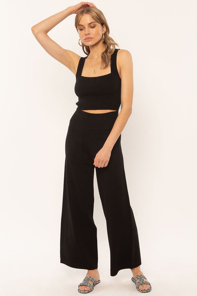 Mission Sweater Pants - Black - Tierra Alma