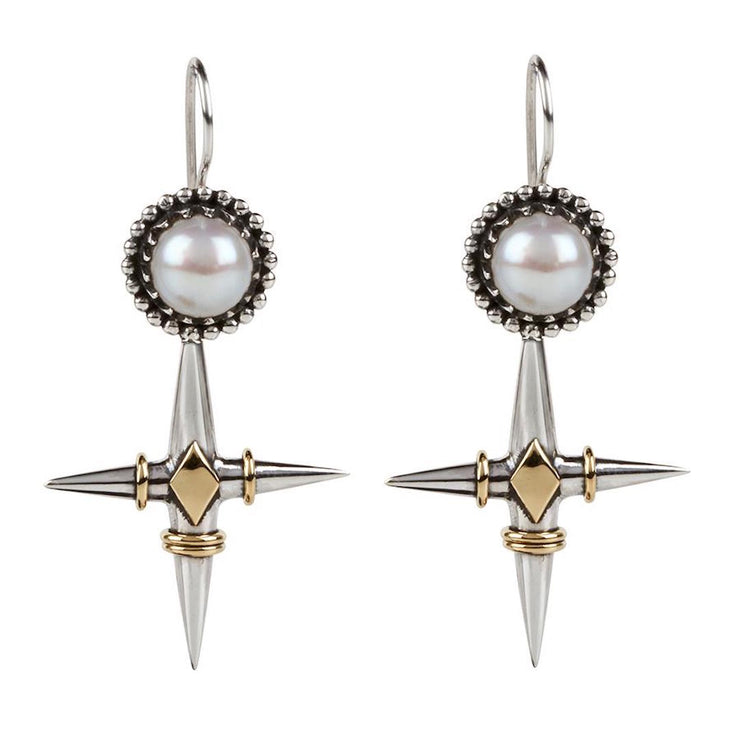 Don't Cross Me Earrings - Tierra Alma