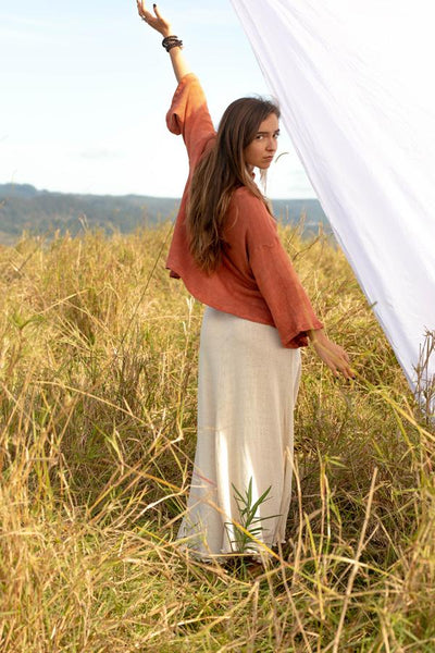 Ivy Sweater - Clay - Tierra Alma