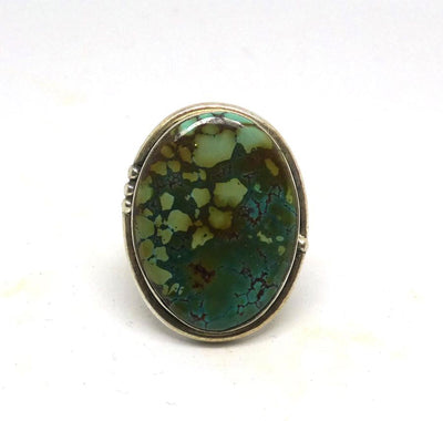 Turquoise Ring #9 Size US8 - Tierra Alma