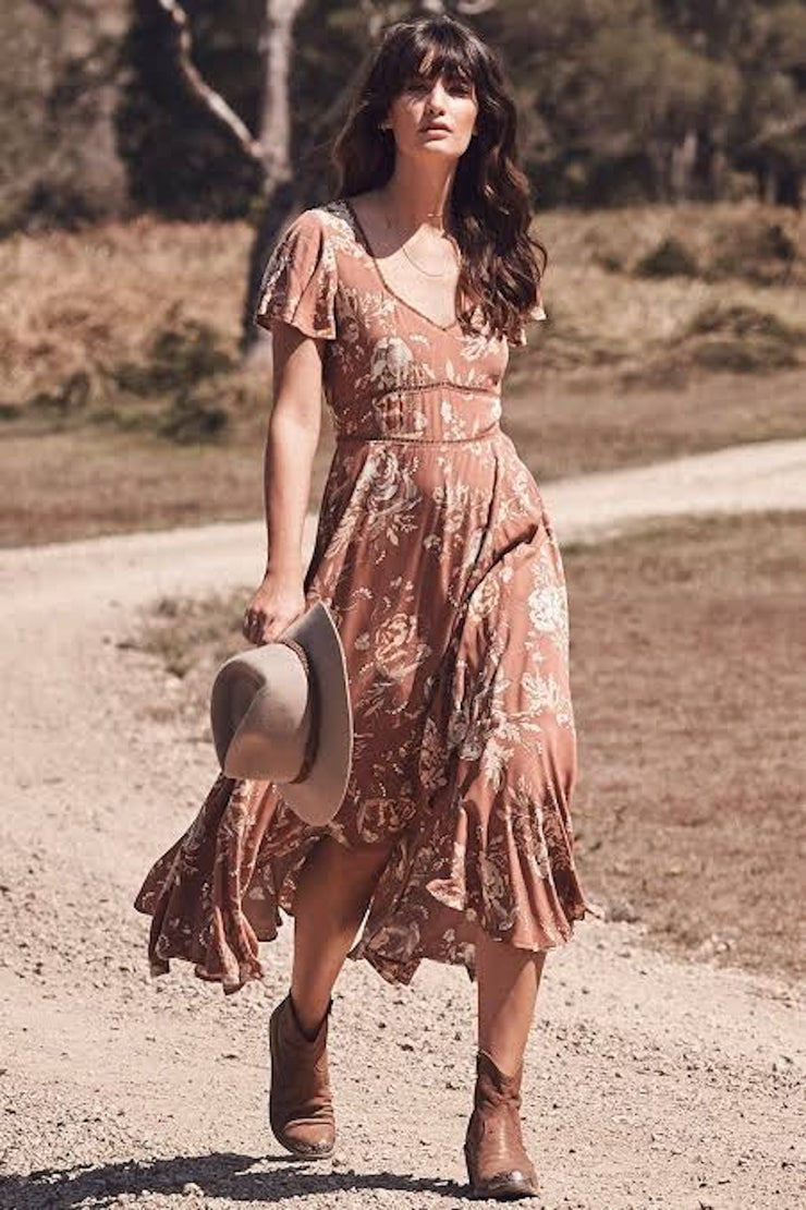 Rosa Garden Party Dress - Spell Vintage