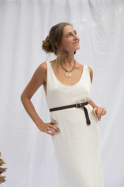 Ida Dress - Natural - Tierra Alma