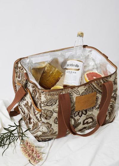 Acacia Cooler Bag - Hazel Color