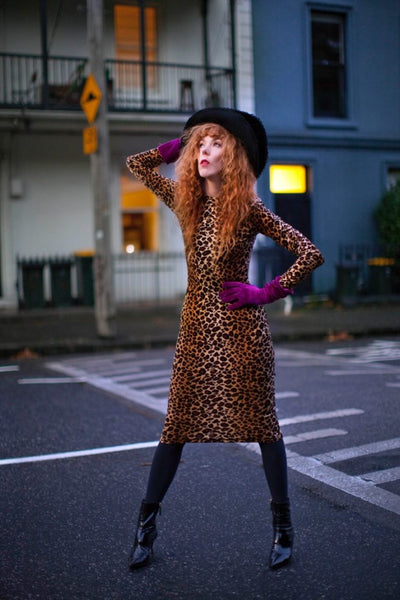 Leopard Queen Dress