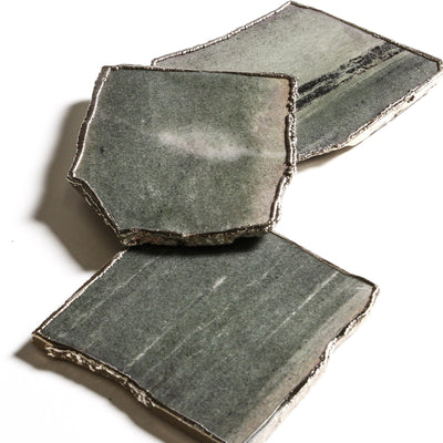 Green Aventurine Coasters