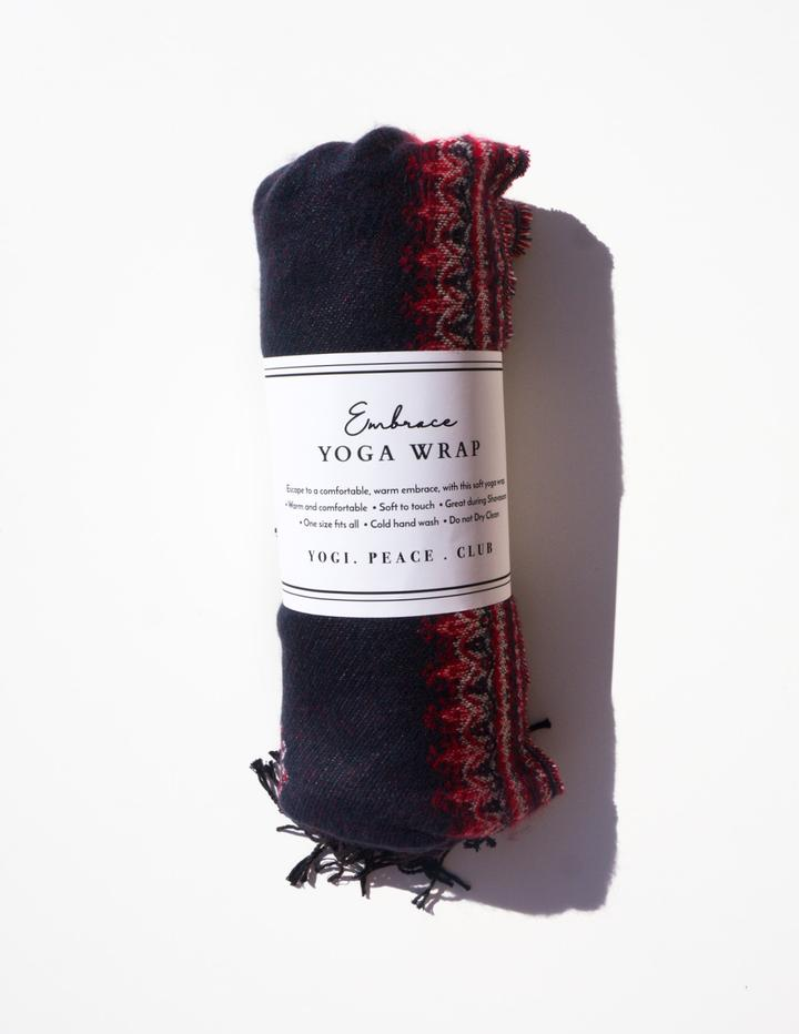Embrace Yoga Wrap Navy - Tierra Alma