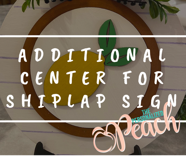 Additional Center for Shiplap circles