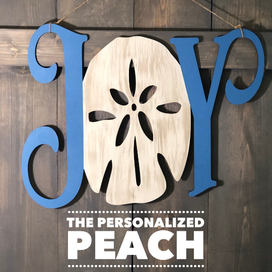 Joy Sand dollar Door Hanger