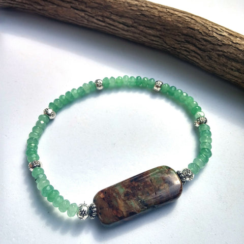 hdr opal jade bracelet jipsijunk and african bracelets products stackable large green