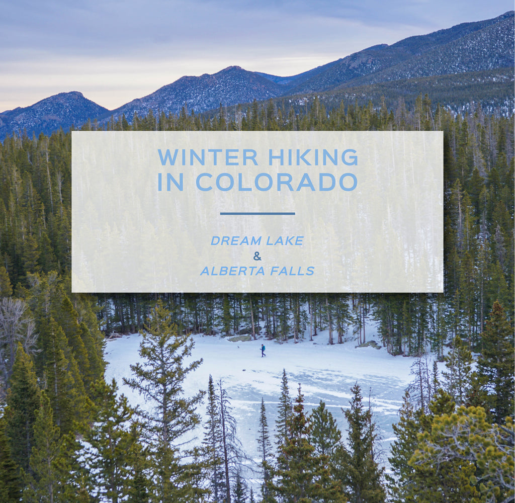 Winter Hiking In Colorado - Dream Lake & Alberta Falls