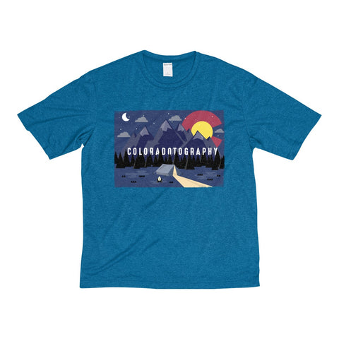 Camp Coloradotography Men's Heather Dri-Fit Poly Tee