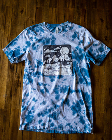 Limited Edition Tie Dye wilderness T-Shirt
