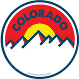 Coloradotography Limited Edition Sticker 6 Pack