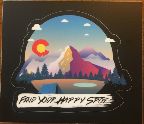 Happy Spot Sticker
