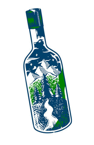 Adventure Bottle sticker