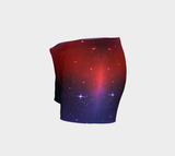 Yoga Booty Shorts - Deep Space