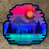 The Camp Life Sticker