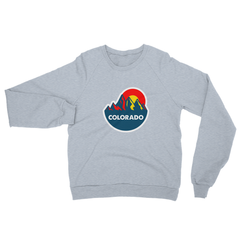 Colorado Mountain Sun Raglan sweater