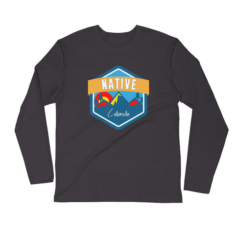 Colorado Native Long Sleeve Fitted Mens
