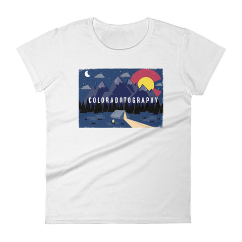 Camp Coloradotography Women's tee