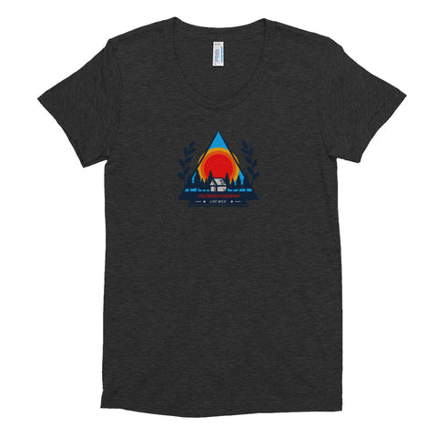 Camp Live Wild Women's tri-blend T-shirt