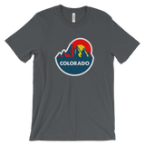 Colorado Mountain Sun Cotton Shirt