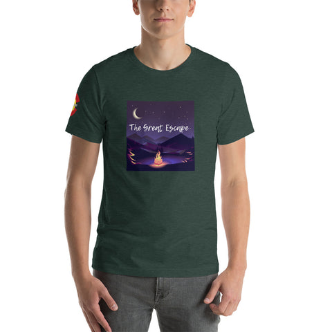 The Great Escape Heather Tee