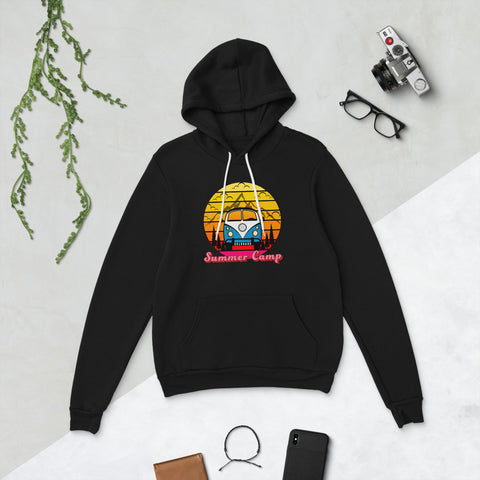 Summer Camp Unisex Pullover hoodie