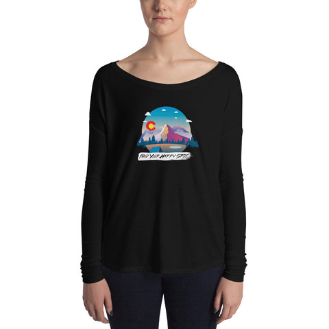 Happy Spot Women's Long Sleeve Tee