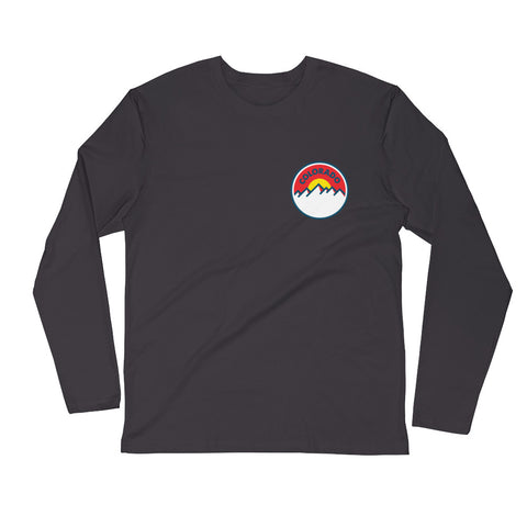 Colorado Sunset 2.0 Long Sleeve Fitted Crew