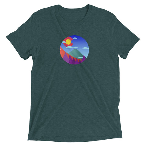 Colorado The Colors Tri-Blend tee