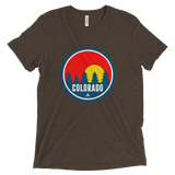 Colorado Red Trees Tri-Blend Shirt