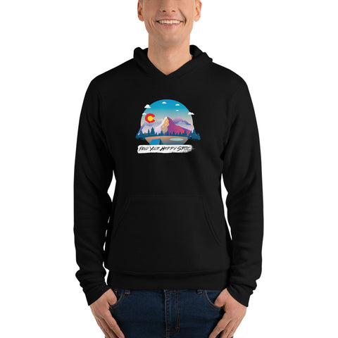Happy Spot Unisex Pullover hoodie