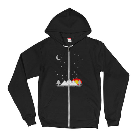 Coloradotography Sky Hoodie Zipper