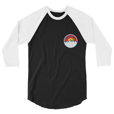 Colorado Sunset 2.0 3/4 sleeve raglan shirt