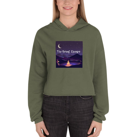 The Great Escape Women's Crop Hoodie