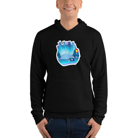Camping Lights Unisex pullover hoodie