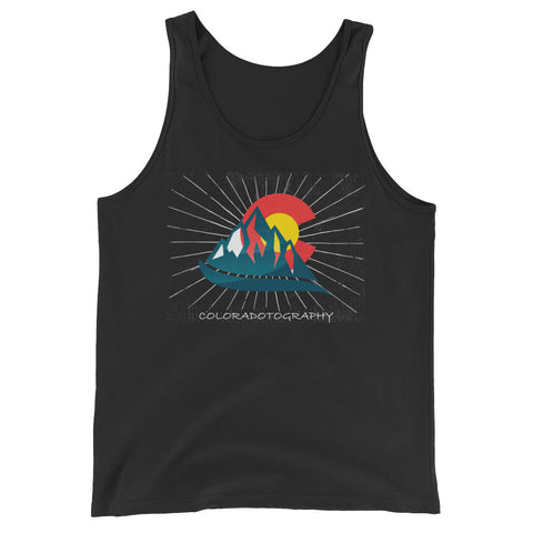 Coloradotography Sunbeam Unisex  Tank Top