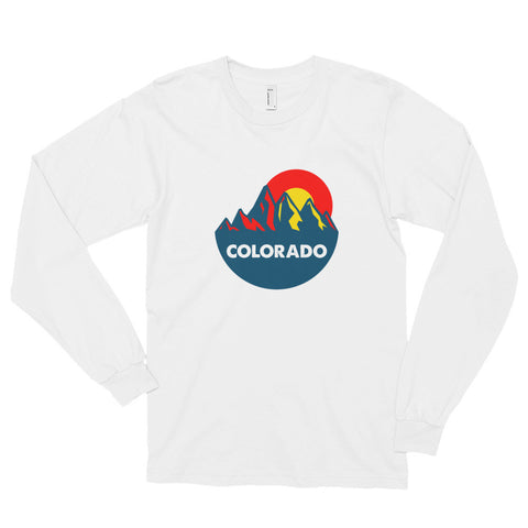 Colorado Mountain Sun Long sleeve t-shirt
