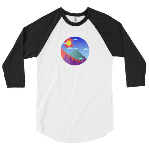 Colorado The Colors 3/4 sleeve raglan shirt