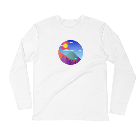 Colorado The Colors Long Sleeve Fitted Crew