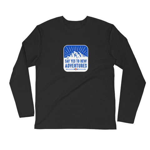 Yes to Adventure Long Sleeve Shirt