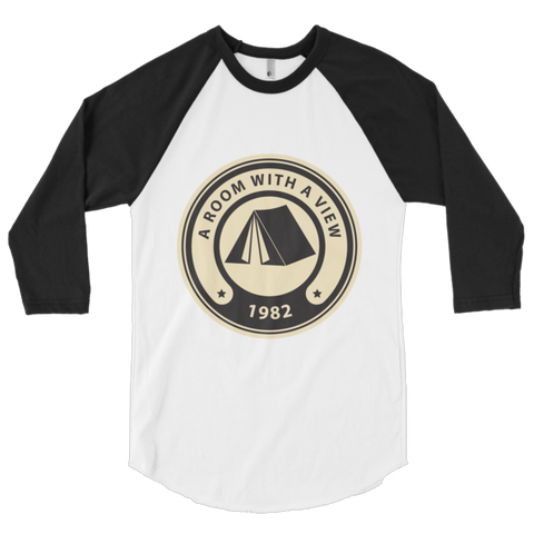Room With A View 3/4 sleeve raglan shirt