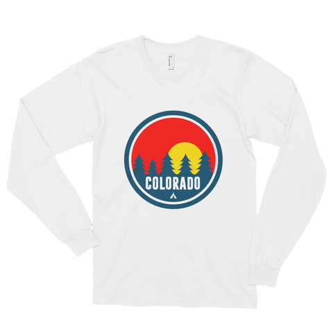 Colorado Red Trees Long sleeve t-shirt (unisex)