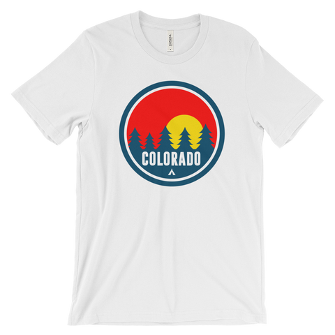Colorado Red Trees Cotton shirt